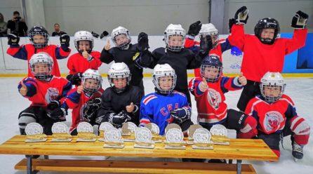 Открыт набор в группы начальной подготовки по хоккею с шайбой